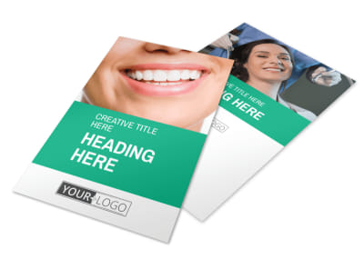 Clean Care Dental Flyer Template 3