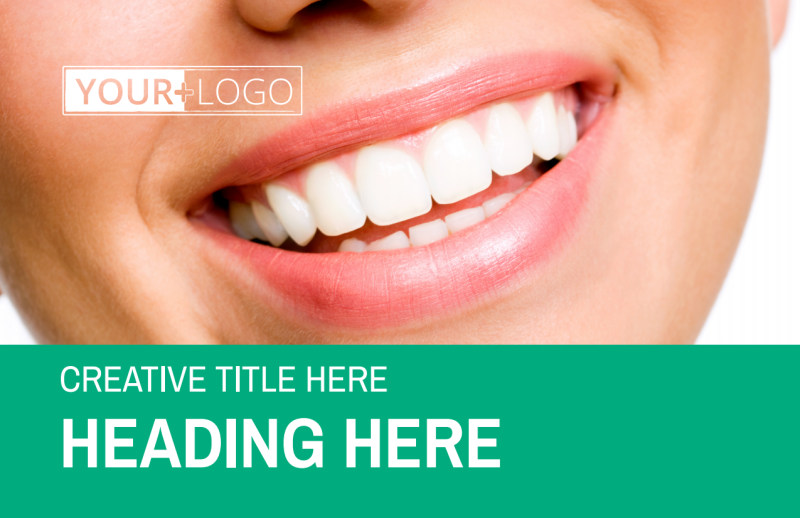 Clean Care Dental Postcard Template Preview 2
