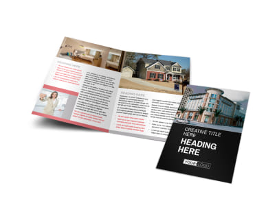 Improved Property Management Bi-Fold Brochure Template preview