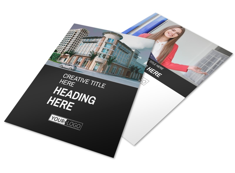 Improved Property Management Flyer Template