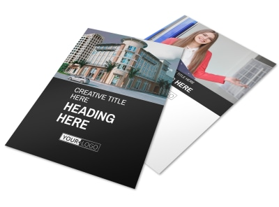 Improved Property Management Flyer Template preview