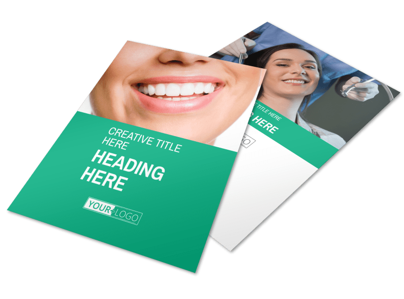 Clean Care Dental Flyer Template Preview 1