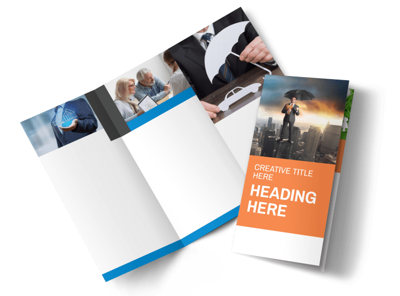 Family Insurance Agency Brochure Template Preview 1