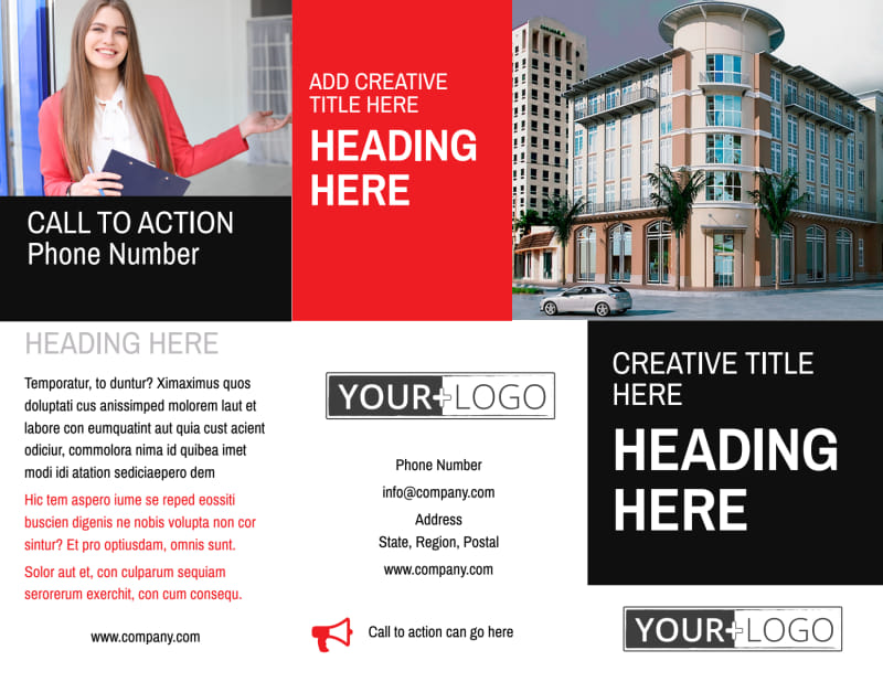 Improved Property Management Brochure Template Preview 2