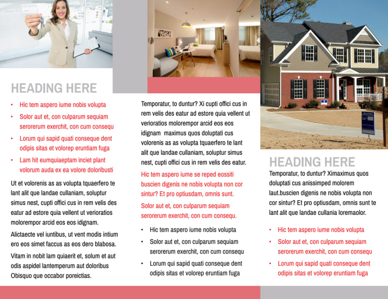 Improved Property Management Brochure Template Preview 3