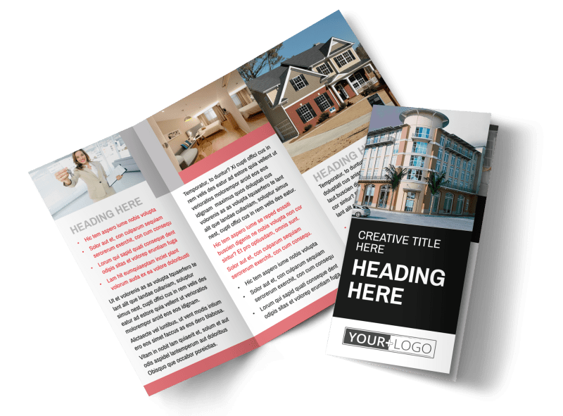 Improved Property Management Brochure Template Preview 1