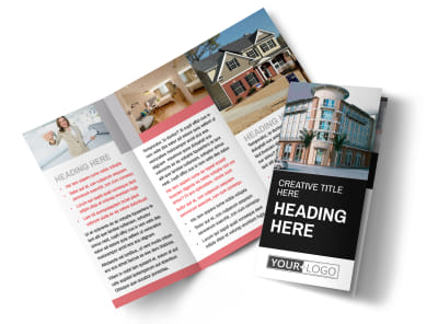 Improved Property Management Tri-Fold Brochure Template