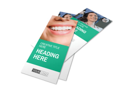 Clean Care Dental Flyer Template 2