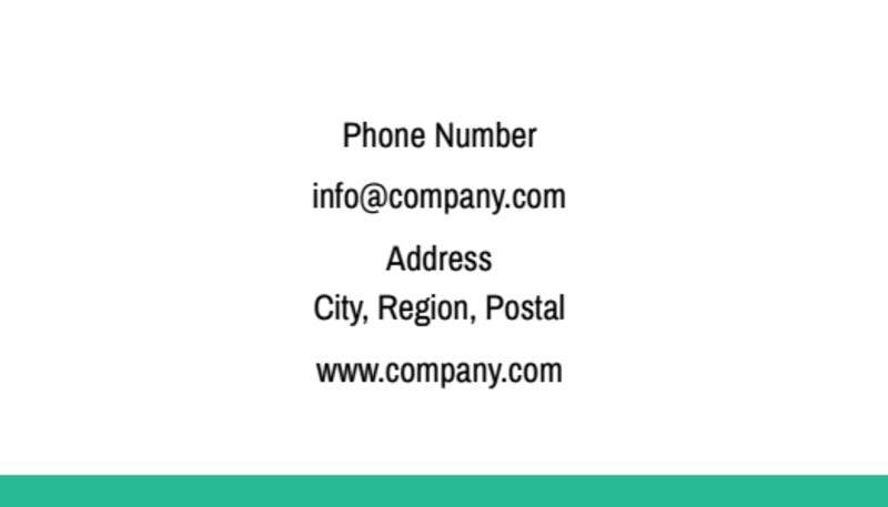 Financial Consultant Services Business Card Template Preview 3