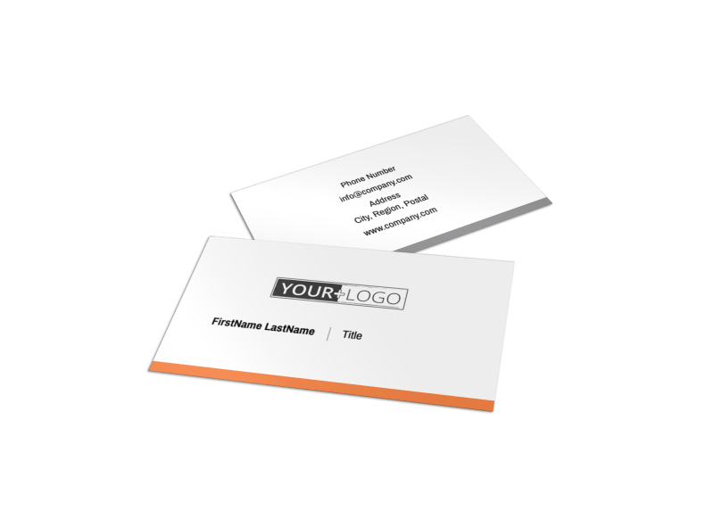 Family Insurance Agency Business Card Template Preview 1