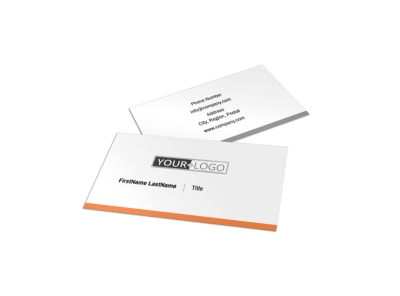 Family Insurance Agency Business Card Template preview