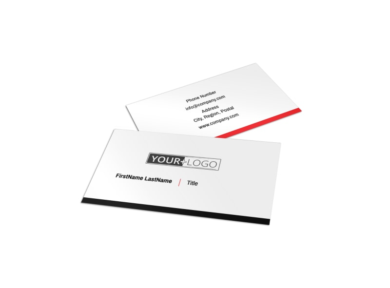 Improved Property Management Business Card Template