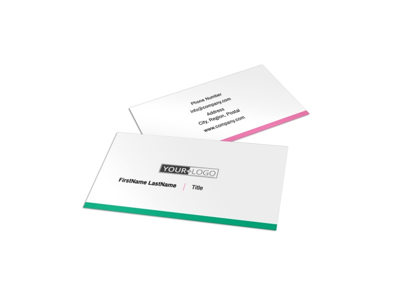 Clean Care Dental Business Card Template