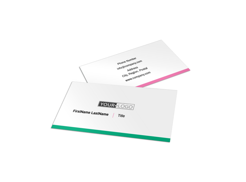 Clean Care Dental Business Card Template Preview 1