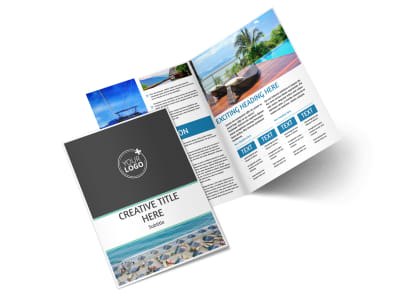 Time Share Opportunities Bi-Fold Brochure Template 2