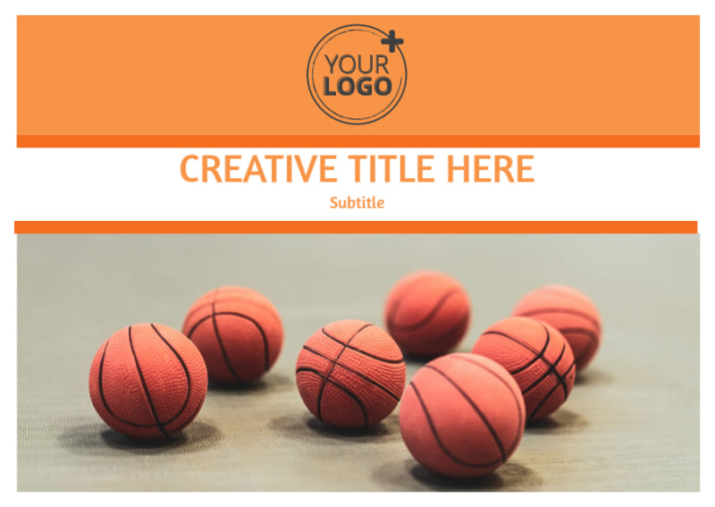 Basketball Camp Postcard Template Preview 2