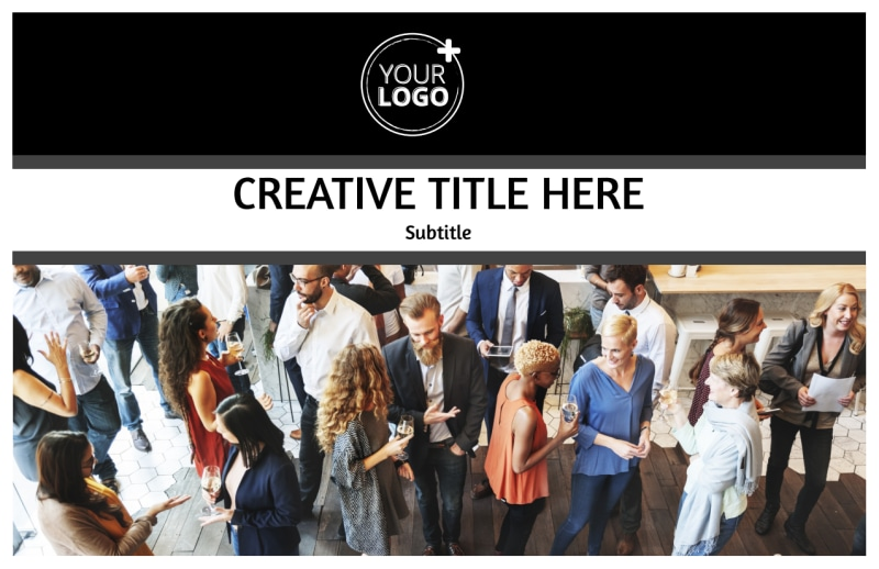 Office Event Photography Postcard Template Preview 2