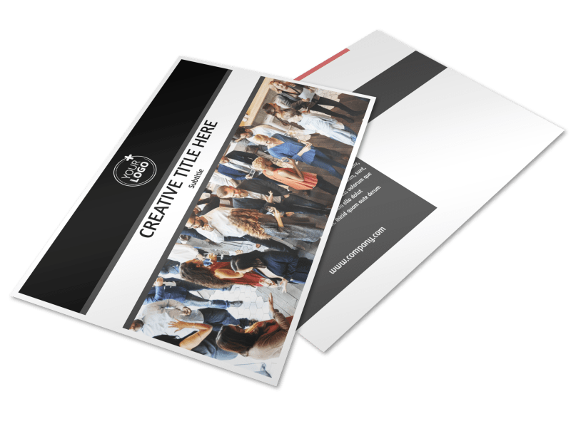 Office Event Photography Postcard Template Preview 1
