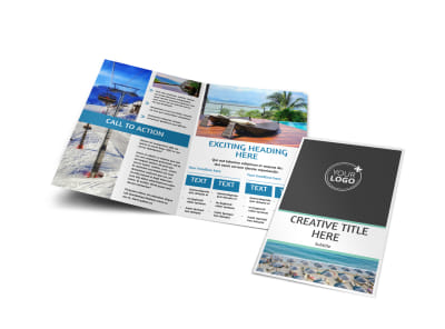 Time Share Opportunities Bi-Fold Brochure Template