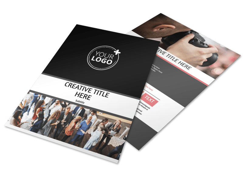 Office Event Photography Flyer Template Preview 1