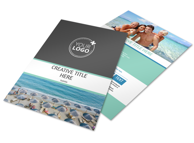 Time Share Opportunities Flyer Template Preview 1