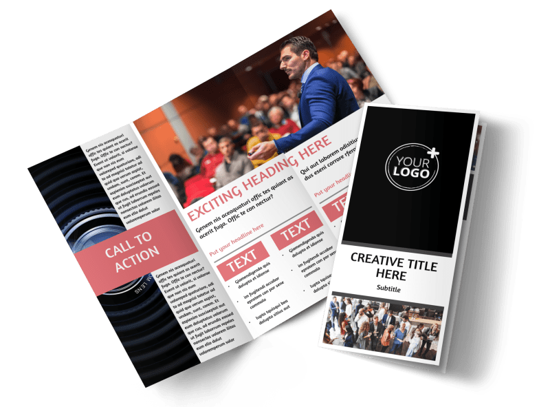 Office Event Photography Brochure Template Preview 1