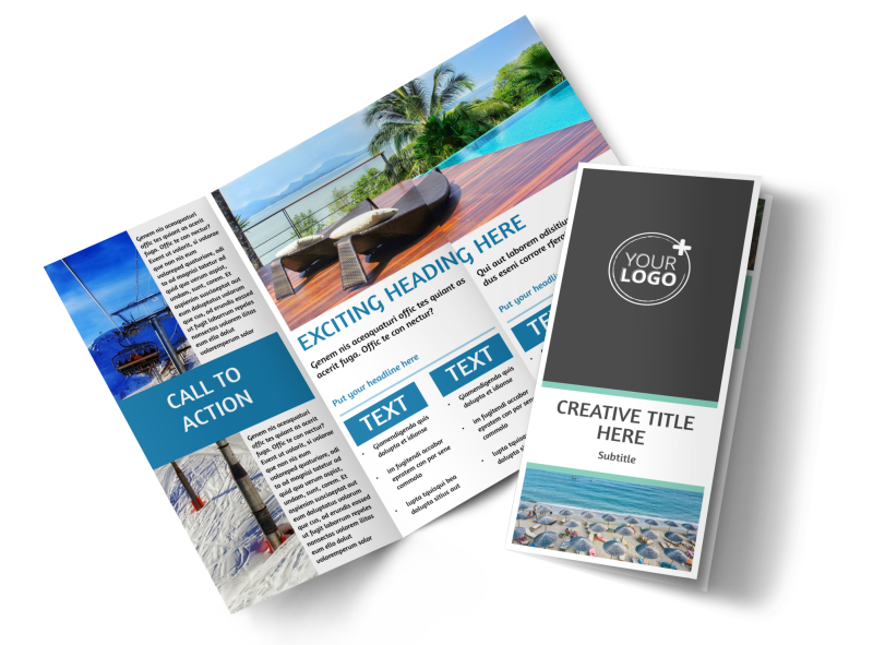 Time Share Opportunities Brochure Template Preview 1