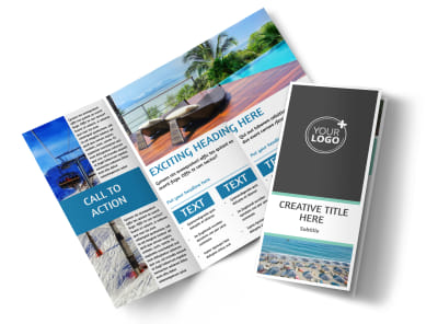 Time Share Opportunities Tri-Fold Brochure Template