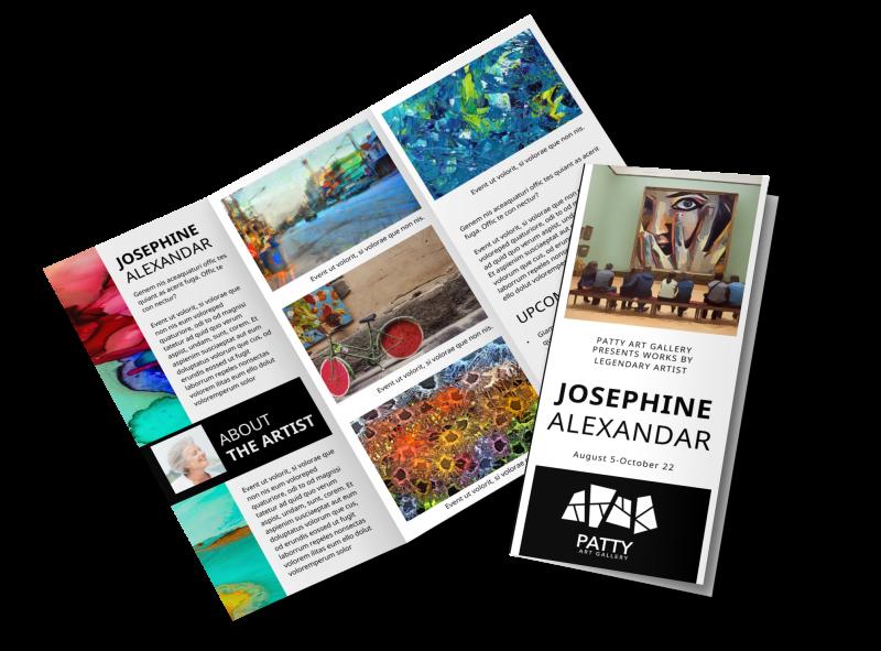 Art Exhibition Brochure Template Preview 1