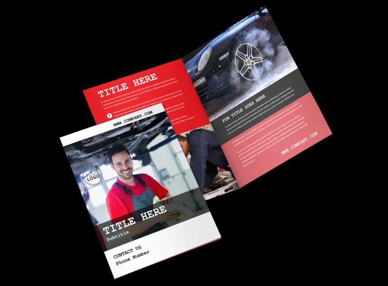 Roadside Assitance Brochure Template Preview 1