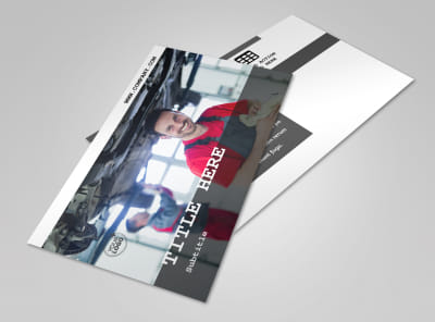 Roadside Assitance Postcard Template 2 preview
