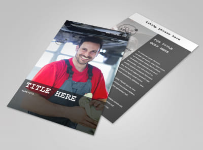 Roadside Assitance Flyer Template 3
