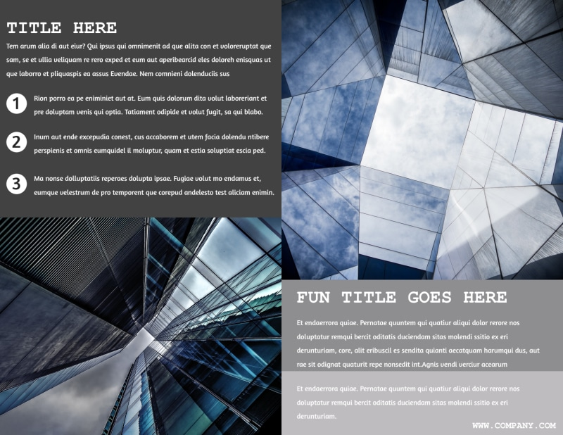 Modern Architect Brochure Template Preview 3