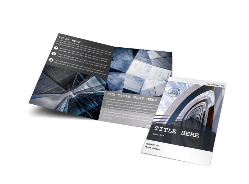 Modern Architect Brochure Template Preview 1