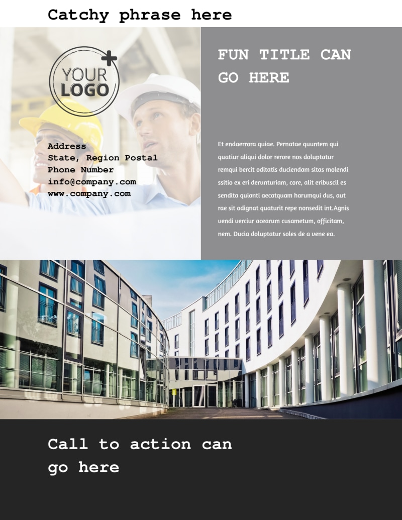 Modern Architect Flyer Template Preview 3