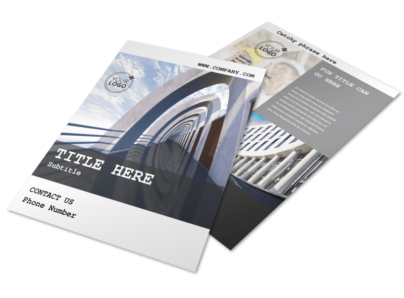 Modern Architect Flyer Template Preview 1