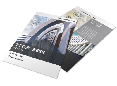 Modern Architect Flyer Template preview