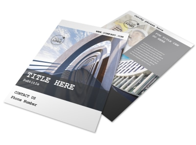 Modern Architect Flyer Template