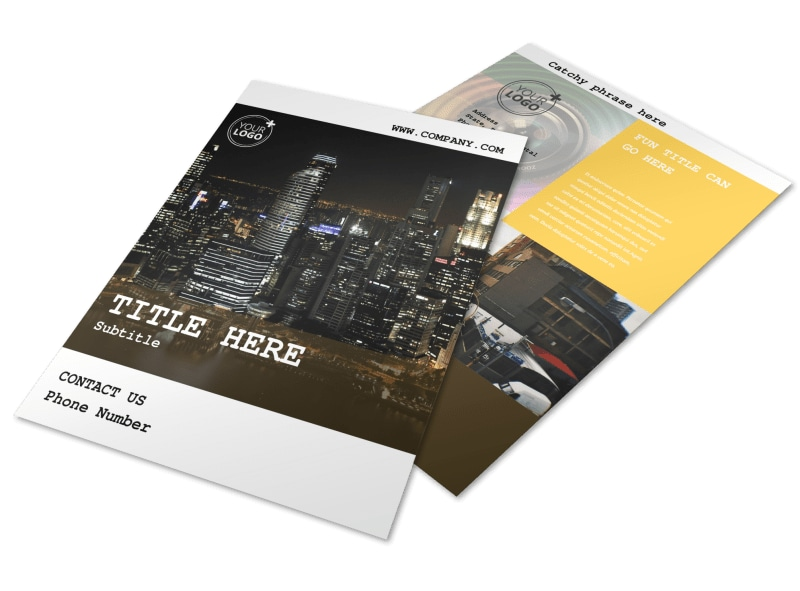 Urban Photography Flyer Template