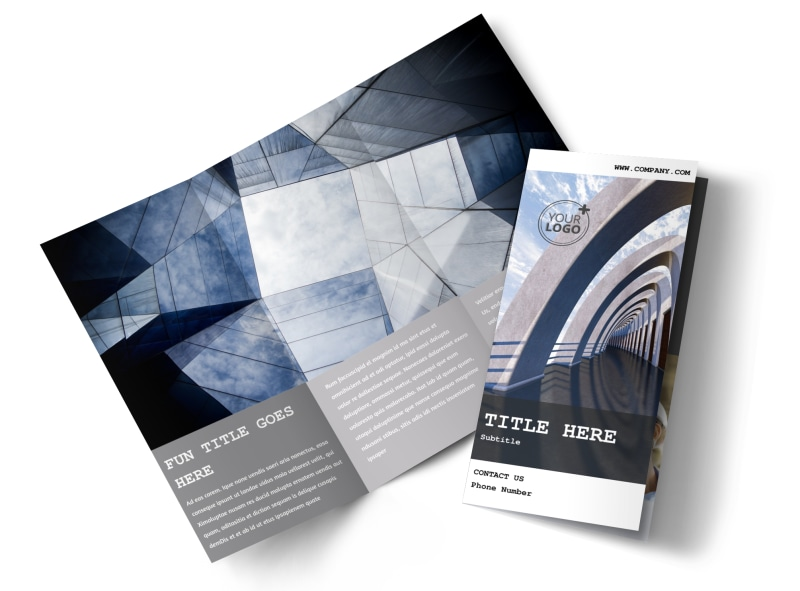 Modern Architect Brochure Template  Mycreativeshop