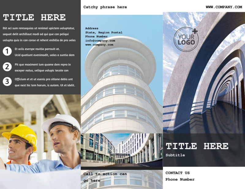 Modern Architect Brochure Template Preview 2