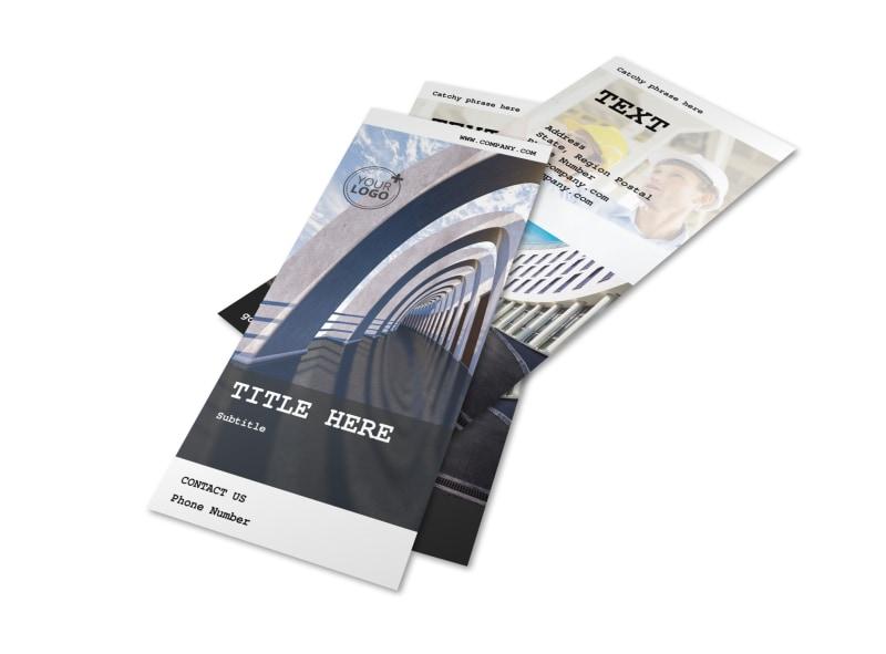Modern Architect Flyer Template 2