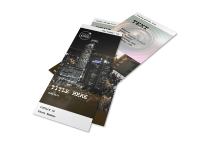 Urban Photography Flyer Template 2
