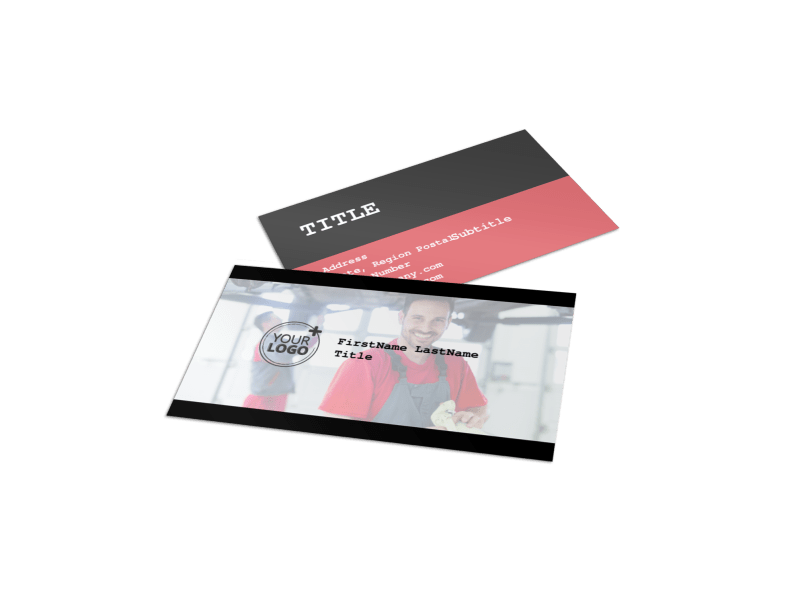 Roadside Assitance Business Card Template Preview 1