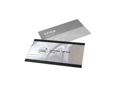 Modern Architect Business Card Template preview