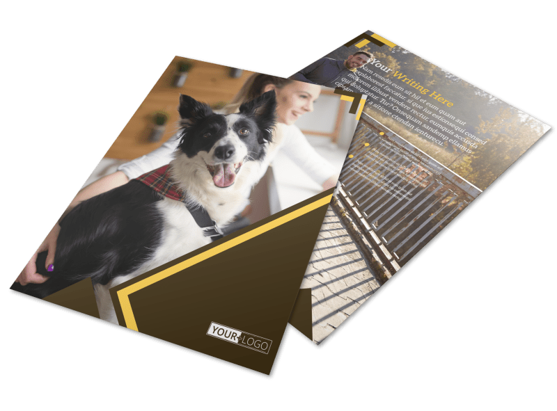 Dog Training Flyer Template Preview 1