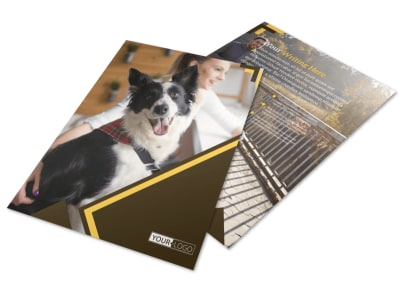 Dog Training Flyer Template