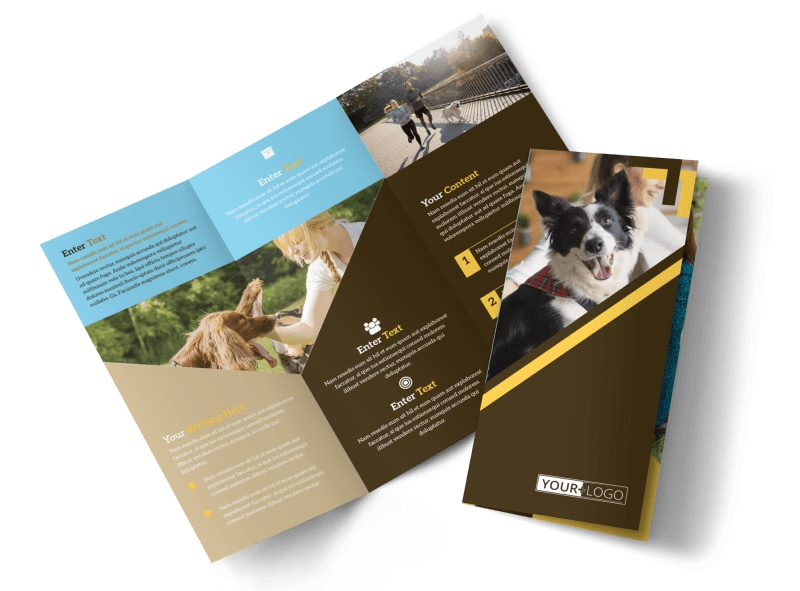 Dog Training Brochure Template Preview 4