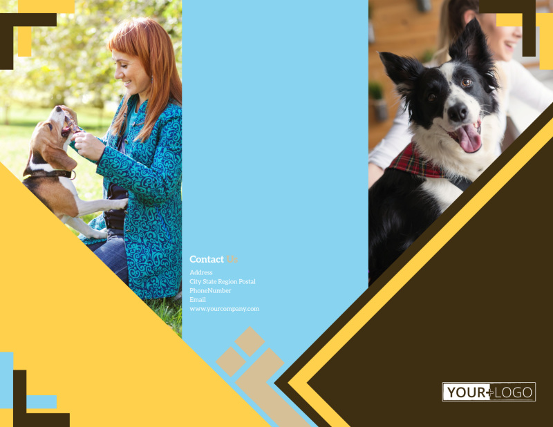 Dog Training Brochure Template Preview 2