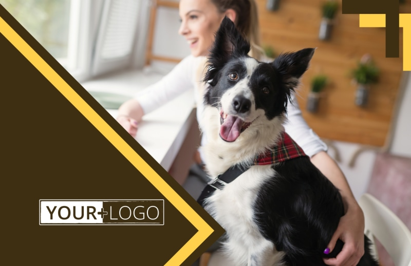 Dog Training Postcard Template Preview 2